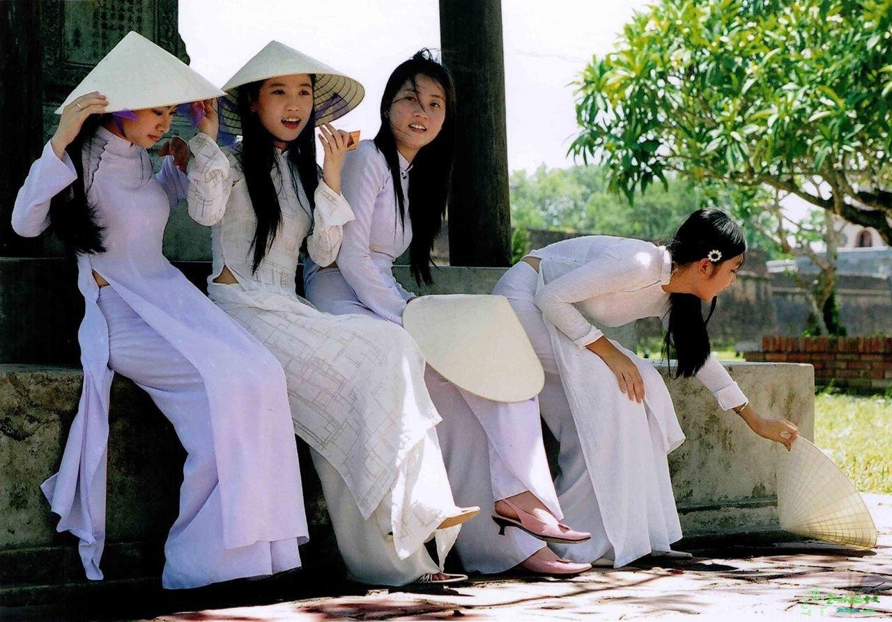 девушки из Вьетнама