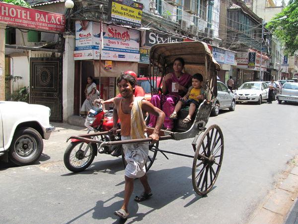Рикши в Индии2