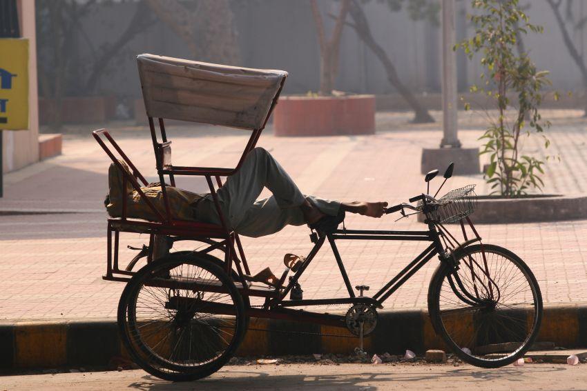 Рикши в Индии4