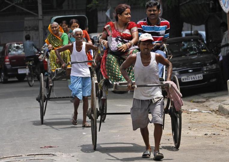 Рикши в Индии5